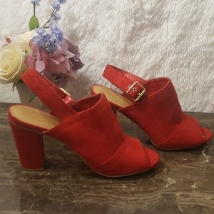 Red Sandals/ Red Shoes/ Size 8.5 /Cityclassified